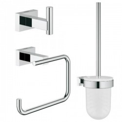 Zestaw WC 3 w 1 GROHE ESSENTIALS CUBE. Chrom 40757001